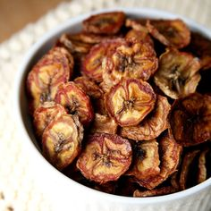 Baked Cinnamon Banana Chips Save on Dough and Added Sugars: When you need a little energy before a workout, a banana is one of the best choices since it's quick and easy to digest.