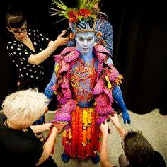 Costume designer Kym Barrett's costume design for Cirque du Soleil's Toruk - The First Flight.