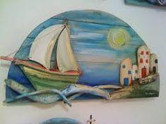 Αποτέλεσμα εικόνας για βαρκες ζωγραφικη