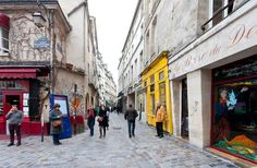 Marais, melhor bairro de Paris.