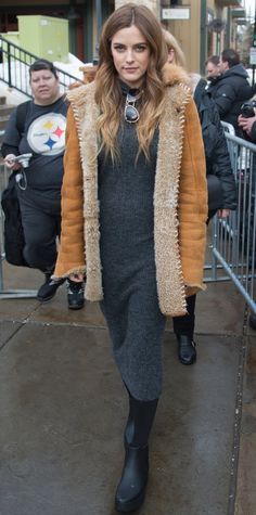 See the Best Celebrity Street Style Moments at the2016 Sundance Film Festival - Riley Keough - from InStyle.com