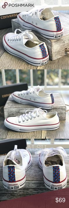 online retailer 11996 e9695 Converse amp Cristal Ctas Classic Low Top White W AUTH Brand new with box.  Price. Star LogoSilhouettesIndustrialAdhesiveStrengthOrnamentConverse  ShoesShoes ...