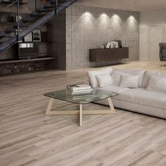 Atelier Taupe Wood Effect Tiles in Modern Living Room. Atelier Taupe Wood Effect Tiles in Modern Living Room. Family Room Design, Wood Effect Tiles, Living Room Decor Furniture, Taupe Walls, Hallway Tiles Floor, Living Room Flooring, Wall Tiles Living Room, Living Room Tiles, Wood Tile Floors