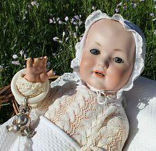 TOP: antike Charakter Babypuppe von Georg Borgfeld &Co um 1912
