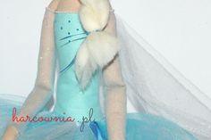 Eliza - błyszcząca zimowa suknia królowej lodu