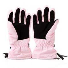 Women's Winter Windproof Waterproof Warm Gloves Outdoor Cycling Skiing Pink -------$7.36