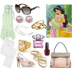 """Disney challenge:: another Jasmine"" by irishfleur06 on Polyvore"