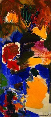 Hans Hofmann / Song of the Philomel / 1963 / oil on panel