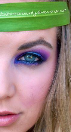Hunger Games makeup series: Nightlock