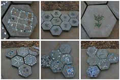 Cute DIY stepping stones