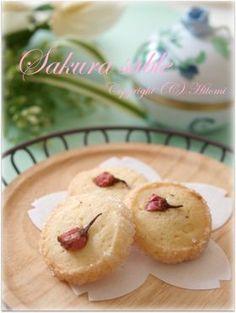 「春を満喫☆桜のサブレ」hitomi | お菓子・パンのレシピや作り方【corecle*コレクル】
