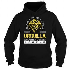 URQUILLA Legend - URQUILLA Last Name, Surname T-Shirt - #gift ideas for him #thank you gift