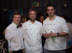 Some of the Howard Worth Come Dine With Us team.