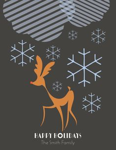 2012 Personalizable Holiday Collection (Preview) via Modern Paper Goods