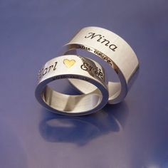 #Förlovningsringar #Engagementrings www.alskadebarn.se Älskade Barn