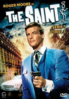 The Saint : Complete Season 1 & 2 - Roger Moore (7 DVD Set) Spy Shows, Great Tv Shows, Old Tv Shows, James Bond Movie Posters, James Bond Movies, Roger Moore, The Saint Tv Series, The Saint Movie, Tv Vintage
