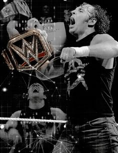 "Dean ""Unstable"" Ambrose!! Our true WWE Champ!!! <3"