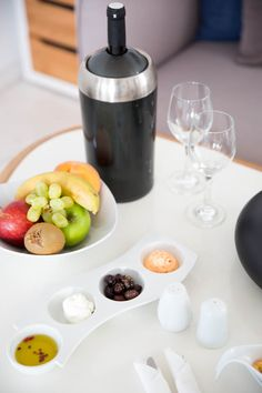 Some wine and some light snacks might be the real case.  www.kouroshotelmykonos.gr #mykonos #greece #luxury #hotel #travel