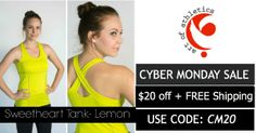 #cyber Monday Sale at AOA. $20 off each item + FREE Shipping. http://www.aoaactivewear.com