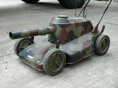 Just A Car Guy: if you must push a lawn mower, may as well make a good show of it Lawn Mower, Inventions, Haha, Gadget, Funny Pictures, Funny Pics, Creations, Entertaining, Cool Stuff