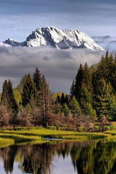 Parque Nacional Grand Teton - Wyoming.