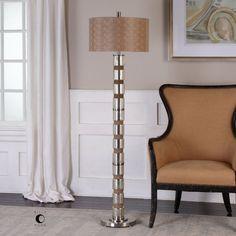 Uttermost Cerreto Mercury Glass Floor Lamp - 28128