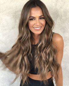 Brunette Meets Platinum-Blonde - 40 of the Best Bronde Hair Options - The Trending Hairstyle Hair Color Dark, Brown Hair Colors, Dark Hair, Hair Colour, Trending Hairstyles, Hairstyles Haircuts, Pretty Hairstyles, Subtle Blonde Highlights, Brown Hair Extensions