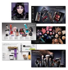 Sephora catalogue, Fall 2012. Art direction and design: Allison Milmoe. Photography: Kanji Ishii #beauty