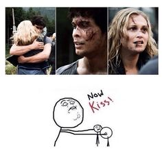 the 100 bellarke The 100 Show, The 100 Cast, Best Tv Shows, Best Shows Ever, The 100 Serie, Grey's Anatomy, The 100 Quotes, Sky People, Bob Morley