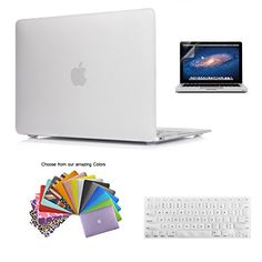 """MacBook 12"""" Retina Display Case TECOOL® 3 in 1 Frosted Ma…"""