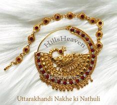 Gold Jewellery Design, Diamond Jewellery, Nose Ring Designs, Bridal Nose Ring, Nose Jewelry, Nose Rings, Antique Gold, Fashion Jewelry, Angel
