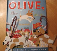 Olive the Other Reindeer idea