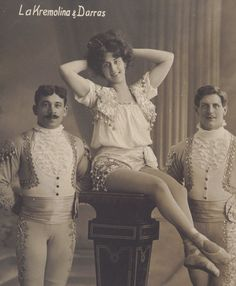 Victorian acrobats