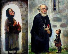 Georgian painter Lado Tevdoradze was born in 1957.