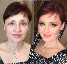 Puterea machiajului: Inainte si dupa Make-up - Makeup Tips Summer Beauty Make-up, Beauty Hacks, Hair Beauty, Contour Makeup, Eye Makeup, Hair Makeup, Makeup Brushes, Beauty Makeover, Power Of Makeup