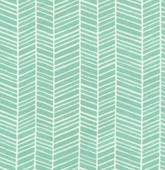 Joel Dewberry FABRIC - Modern Meadow - Herringbone - POND