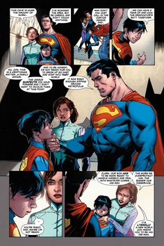 Superman takes Lois Lane, Superboy, and the Man of Steel to the moon in one of DC Comics' best issues since the start of Rebirth. Superman And Lois Lane, Superman Art, Superman Family, X Men, Dc Rebirth, Marvel Avengers Movies, American Dad, Supernatural Fans, Dc Characters