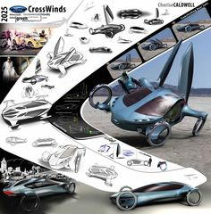 Ford CrossWinds Concept by Cherise Caldwell