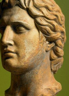 Alexander the Great, King of the ancient Greek kingdom of Macedonia now the northern province of Modern Greece.