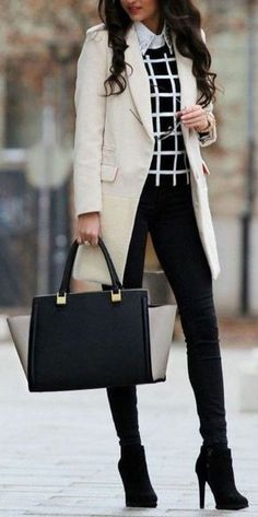 The Best Professional Work Outfit Ideas - Work Outfits Women Business Professional Outfits, Business Casual Outfits, Office Outfits, Business Chic, Professional Clothing, Corporate Attire Women Young Professional, Fall Business Attire, Office Wear Women Work Outfits, Work Wear Office