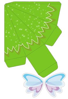Tinkerbell And Friends, Tinkerbell Party, Hobbies And Crafts, Diy And Crafts, Paper Crafts, Christmas Templates, Christmas Crafts, Craft Gifts, Diy Gifts