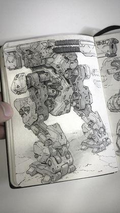 ArtStation - Inktober Sketches, Michal Kus