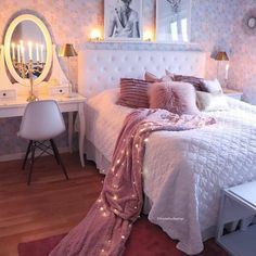50 inspiring bedroom ideas for teen girls you will love 50 – Home Dekor Room Makeover, Room, Room Ideas Bedroom, Room Design, House Rooms, Home Decor, Bedroom Inspirations, Girl Bedroom Decor, Dream Rooms