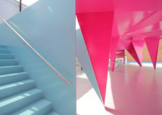 Someone needs to start a blog devoted to school design ASAP. That corner of architecture embraces innovative materials, intriguing shapes and vibrant colour like no other. Perhaps the school element allows one to shed any fear o ...