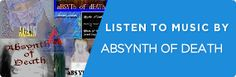 aBSYNTh of dEATh @reverbnation banner