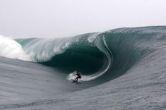 Epic Surfing with a massive wave!...