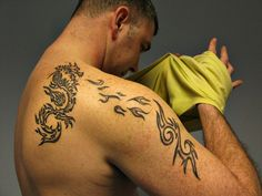 Tattoos Can Help You Prevent Getting Sick Tribal Tattoos, Sick, Canning, Celebrities, Health, Celebs, Health Care, Home Canning, Celebrity