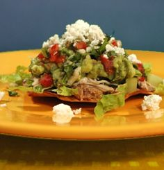 What Texans call 'chalupas' are called tostadas outside the state. This is my quick and light summertime favorite meal when the Texas weather is hot and I have little appetite to eat. Two or three chalupas make a very satisfying meal.