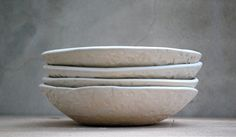 Ceramic pasta setPasta serving bowl set large by claylicious