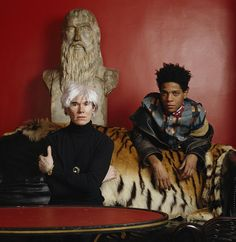 Warhol & Basquiat ㊗️ART AND IDEAS : More At FOSTERGINGER @ Pinterest  ㊙️㊗️